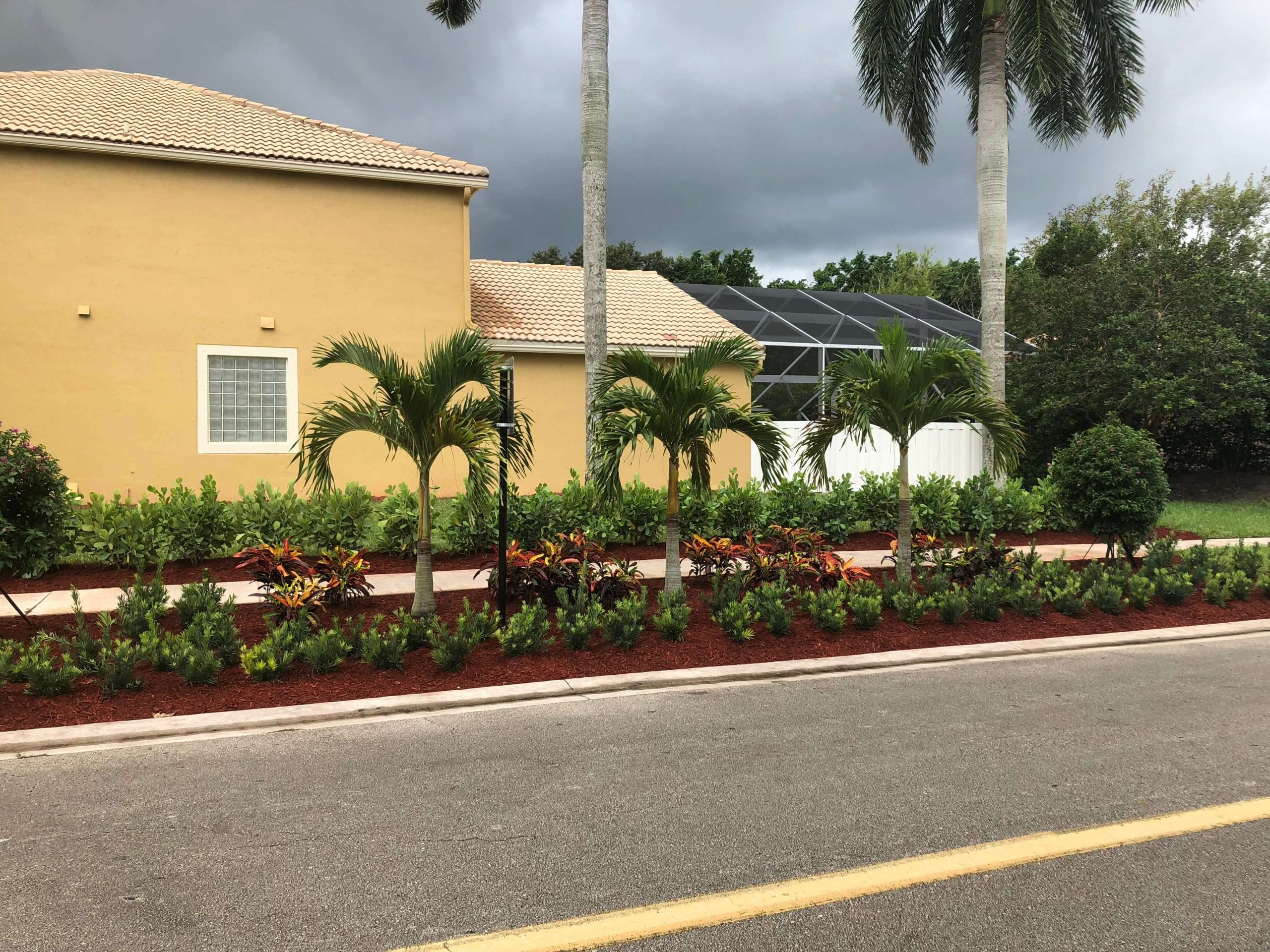 West Palm Beach, Florida Landscape Installation